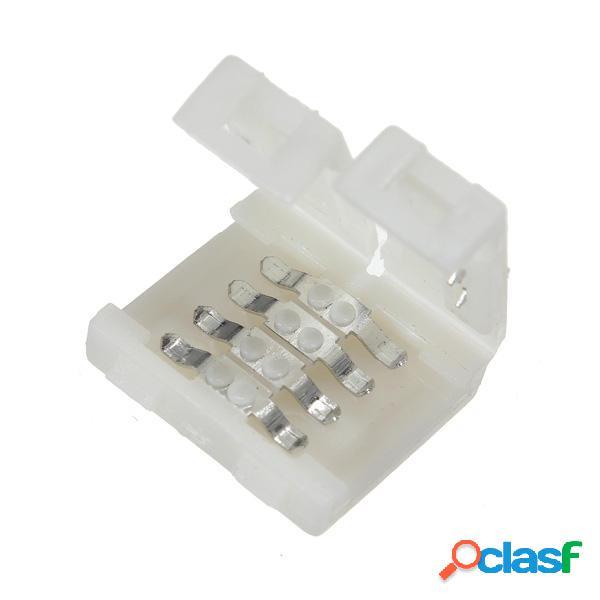 Mini 1pc adaptador de conector rgb 4 pines para 5050 rgb LED