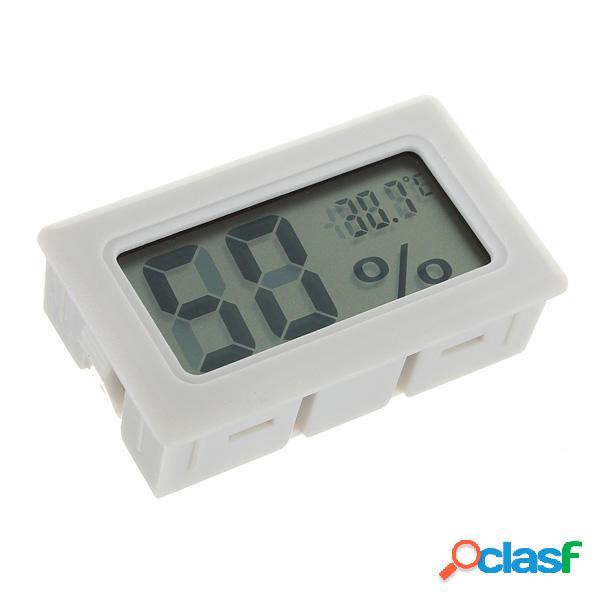 Mini Digital LCD Termómetro Medidor de humedad Higrómetro
