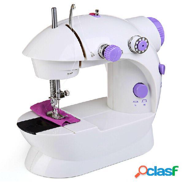 Mini escritorio multifuncional máquina de coser eléctrica