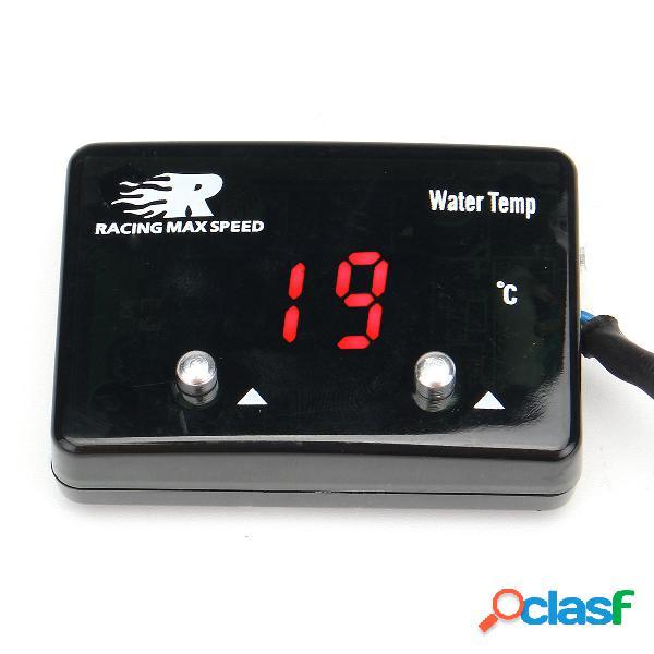 Mini rojo LED Digital Pantalla medidor de temperatura del