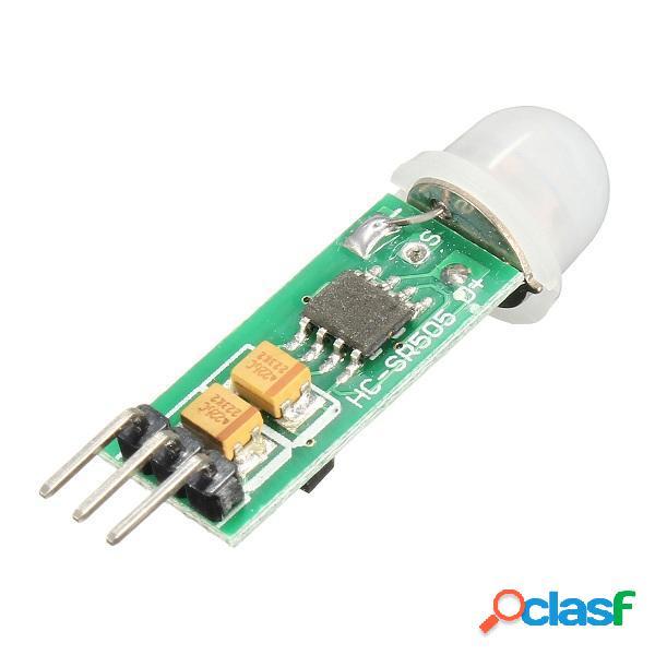 Mini sensor infrarrojo de movimiento PIR precisa módulo