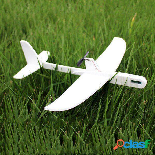 Modelo de Aeronave Planeador de Lanzamiento de Mano de Vuelo