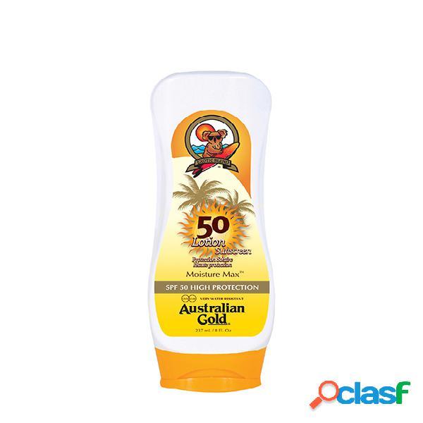Moisture Max. AUSTRALIAN GOLD Sunscreen Lotion SPF 50 High