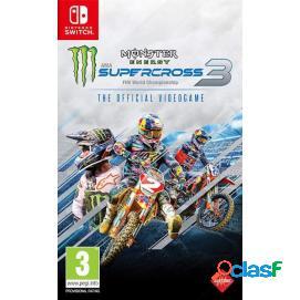 Monster Energy Supercross: El Videojuego Oficial 3 Nintendo