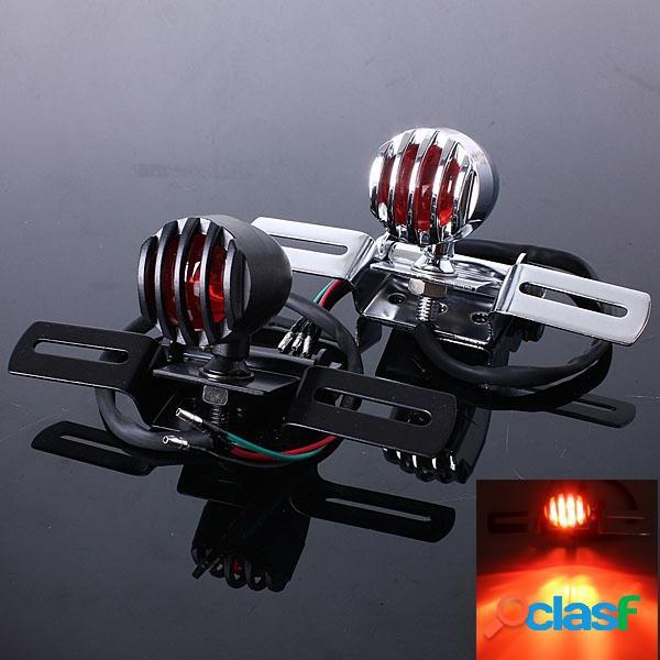 Moto freno trasero soporte de luz trasera para bobber