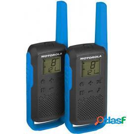 Motorola TLKR T62 Pack 2 Walkie Talkie Azules