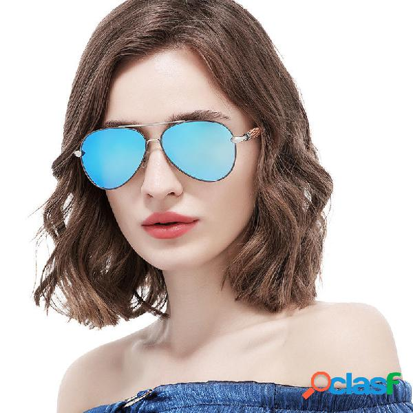 Mujer Summer al aire libre Luxury UV400 Gafas de sol