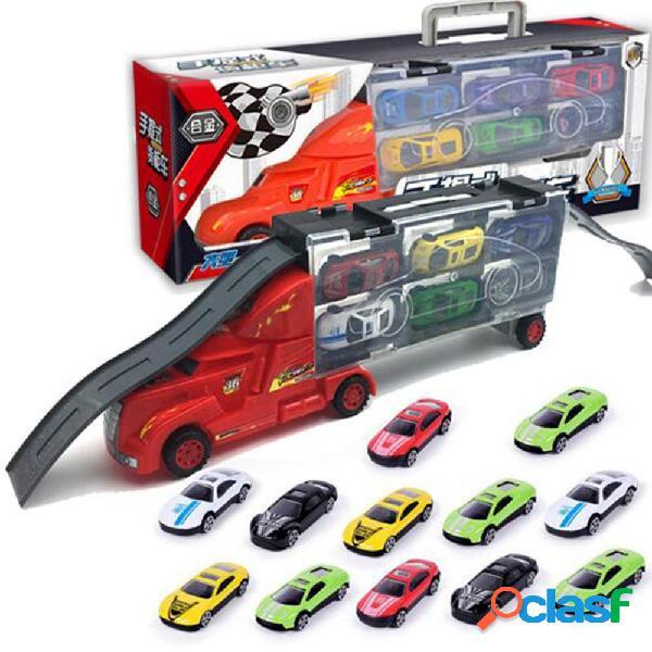 Mylitdear 1:43 Aleación Coche Modelo Plastic Truck 12PCS /