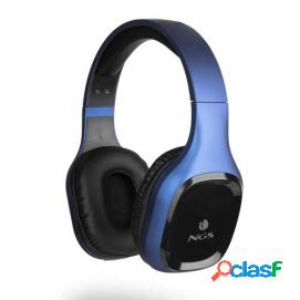 NGS Artica Sloth Auriculares Bluetooth Azul