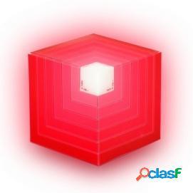 NGS Roller Cube Altavoz Portatil Bluethoot 5W Rojo