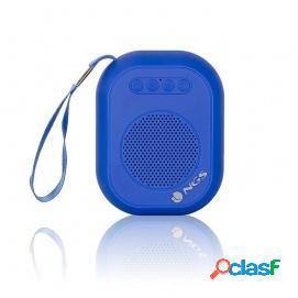 NGS Roller Dice Altavoz Portátil Bluetooth 3W Azul