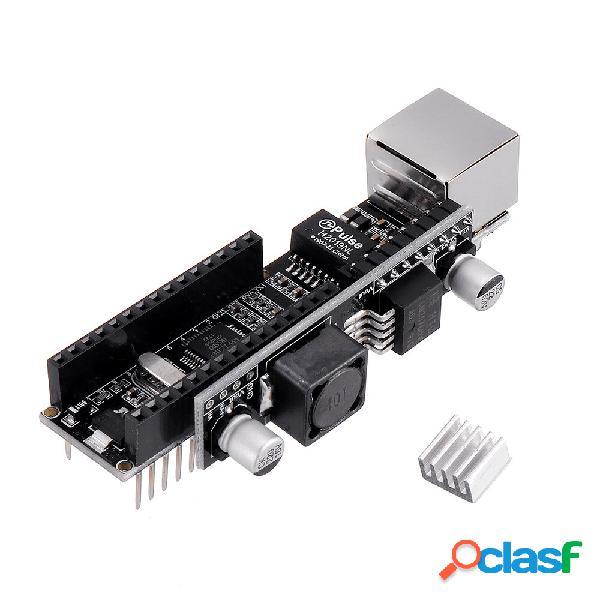 Nano V3 Ethernet Shield W5500 (V3) con PoE para construir un