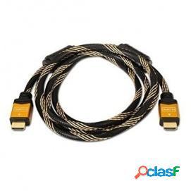 Nanocable Cable HDMI Alta Velocidad Macho/Macho 1.8m