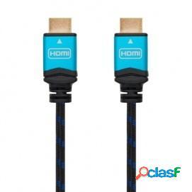 Nanocable Cable HDMI V2.0 4K@60GHz 18 Gbps Macho/Macho 10m