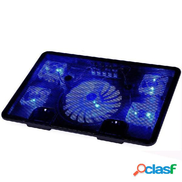Neo star Genuine 5 Fan 2 USB LED Almohadilla de enfriamiento