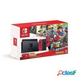 Nintendo Switch Pack Super Mario Odyssey (Código Descarga)