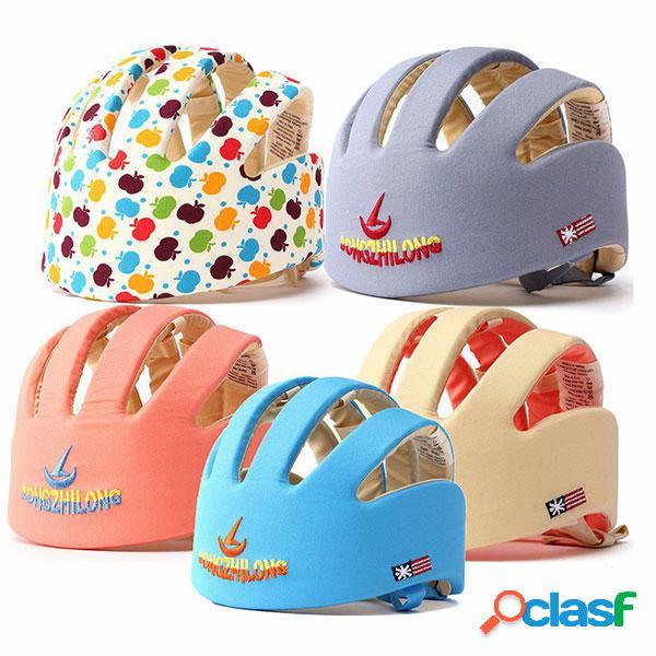 Nuevo niño del bebé casco casco protector de seguridad