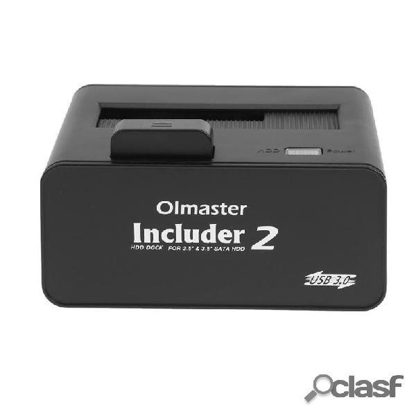 Olmaster 2.5 3.5 Puerto serie SATA Disco duro externo