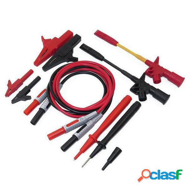 P1600C Kit de cables de sonda de multímetro electrónico 10