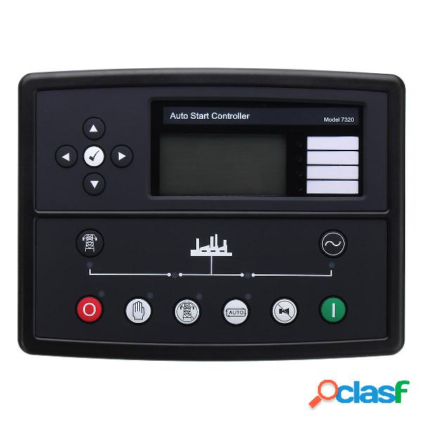 Panel de módulo de controlador de generador diesel de gas