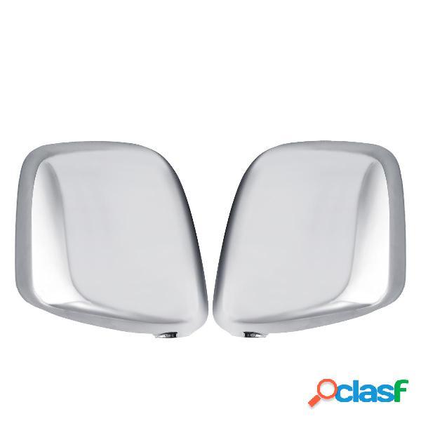 Par brillo cromado Coche cubierta del espejo retrovisor para