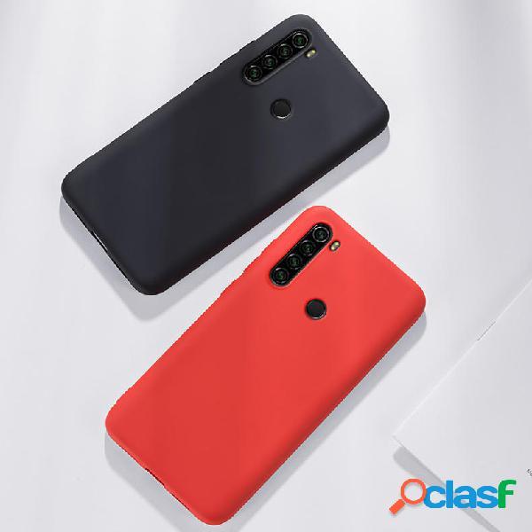 Para Xiaomi Redmi Note 8 Caso Bakeey Líquido liso Silicona