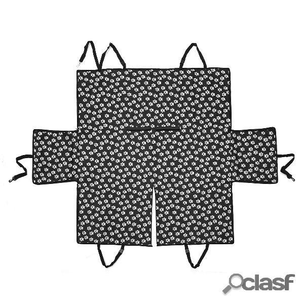 Pet Coche Cubierta de asiento Perro Amortiguador de