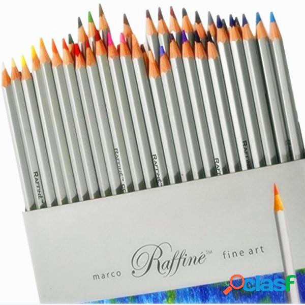 Petróleo dibujo del arte 72 lápices de colores no tóxicos