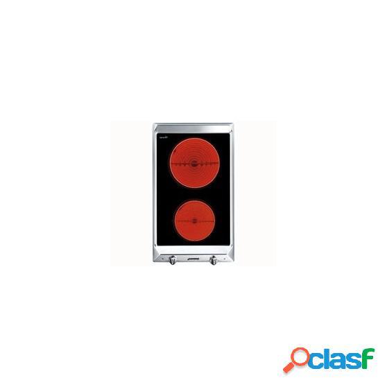 Placa Modular SMEG SEH530X1 30cm Bisel 2f Ix