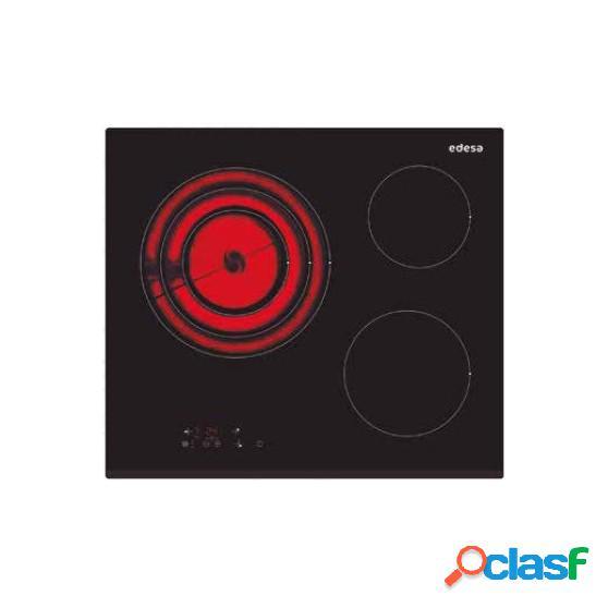 Placa Vitrocerámica EDESA EVT6328B 3f Bisel