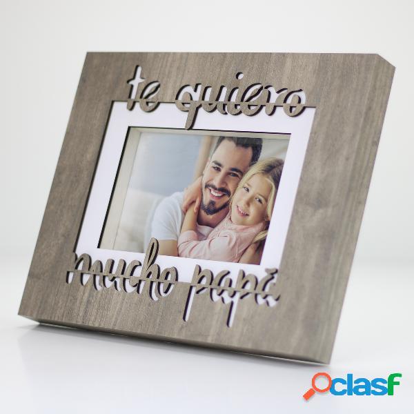 """Portafotos """"Te quiero mucho papá"""""""