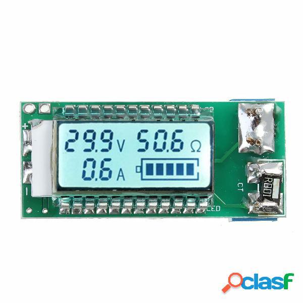 Probador de la Batería li-ion de litio 18650 26650 LCD