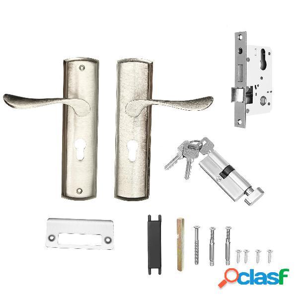 Puerta mecánica cerradura Aleación de aluminio Manija de