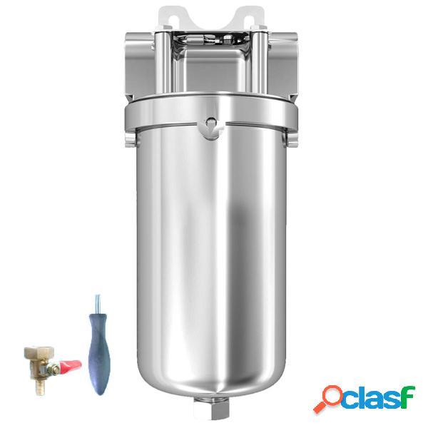 Purificador de agua de acero inoxidable Sedimento de carbono