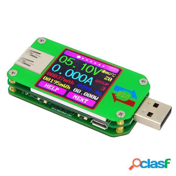 RUIDENG UM24/UM24C Probador de Pantalla LCD en Color USB 2.0
