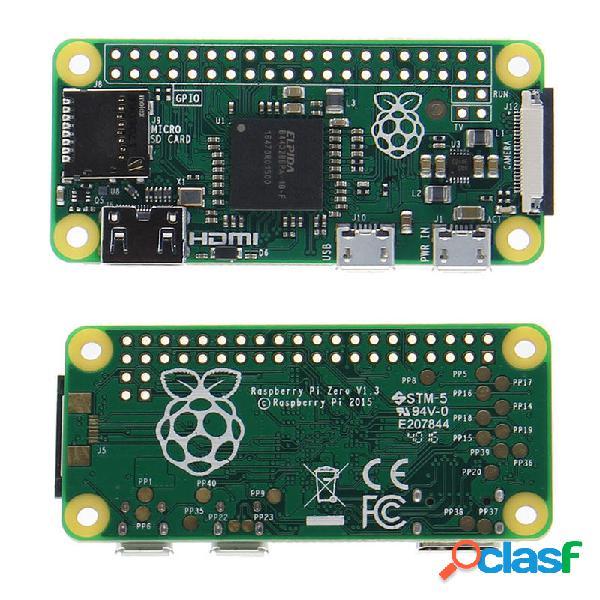 Raspberry Pi Cero 512MB RAM 1GHz CPU de un solo núcleo