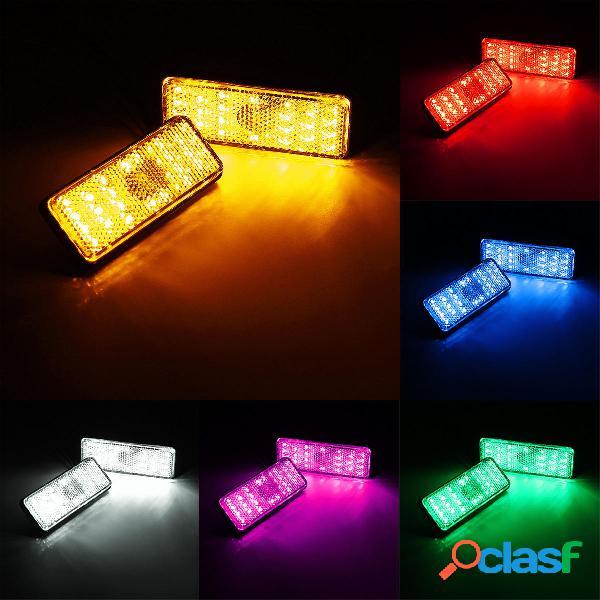 Rectángulo reflector LED freno de cola trasero freno de luz