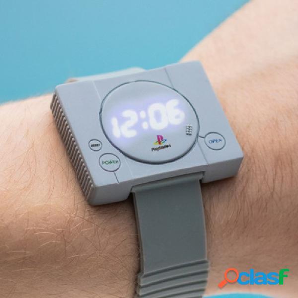 Reloj de pulsera Play Station retro