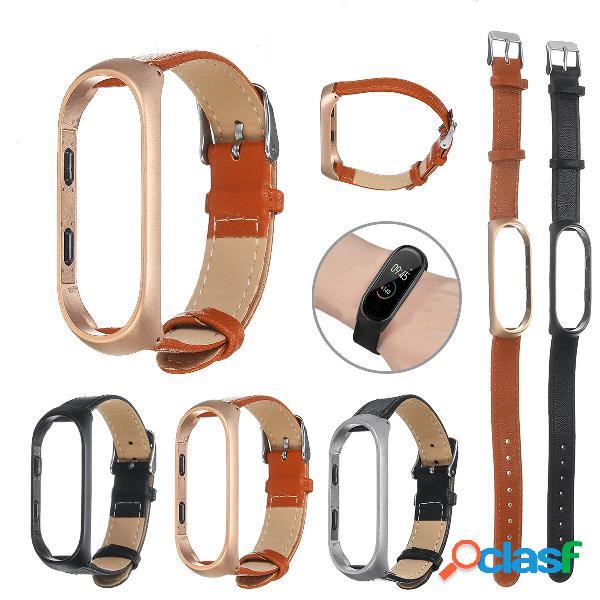 Reloj inteligente de cuero Bakeey Banda Correa de reloj de