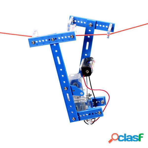 Robot de escalada kit de robot hecho a mano para niños