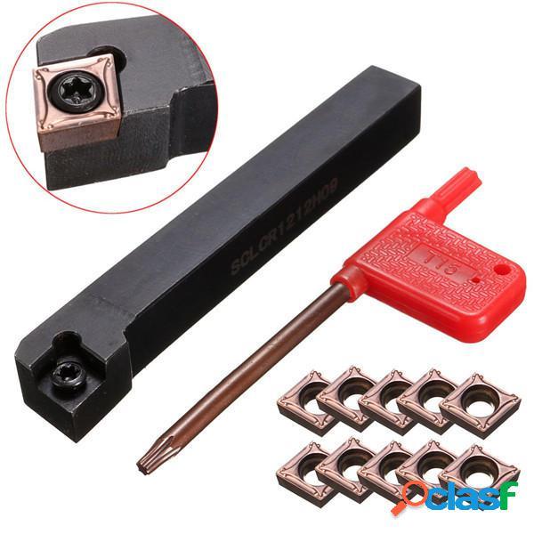 SCLCR1212H09 Torneado herramienta Soporte CNC Torno