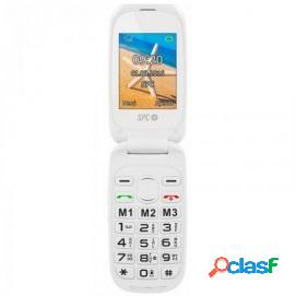 SPC Harmony Dual Sim Blanco Teléfono Libre para Personas