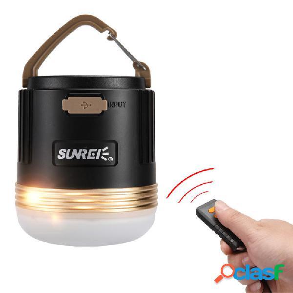 SUNREI CC3 Recargable cámping Luz de emergencia portátil