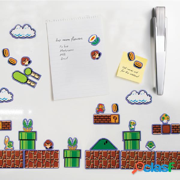 Set 80 imanes Super Mario Bros