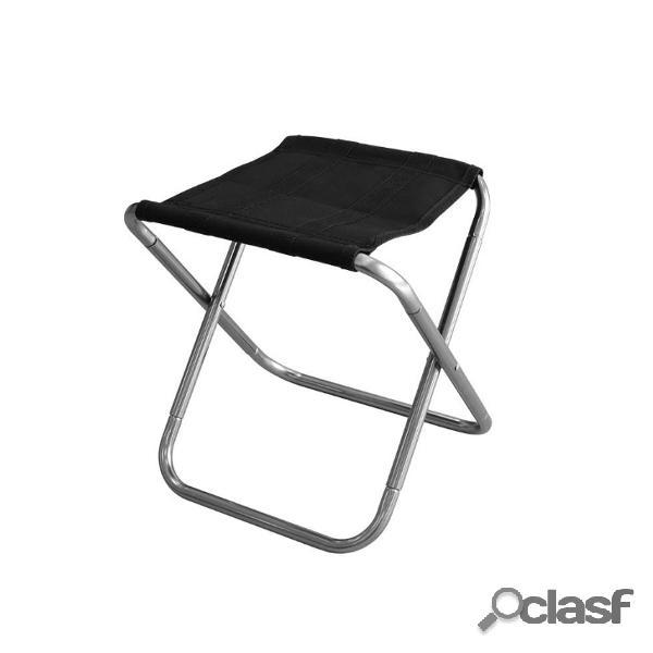 Silla plegable portátil al aire libre cámping Silla de