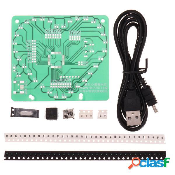 Single Chip SMD luz LED Kit de luz que fluye en forma de
