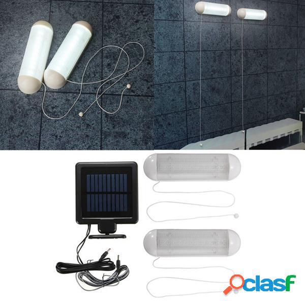 Solar Powered 10 LED de luz de pared impermeable jardín