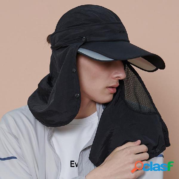 Sombrero de sol de verano para mujer para hombre Uso mutuo