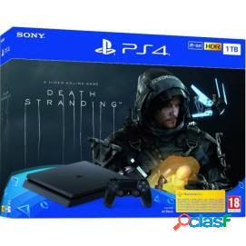 Sony PS4 PlayStation 4 Slim 1TB + Death Stranding
