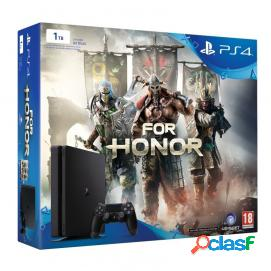 Sony PS4 PlayStation 4 Slim 1TB + For Honor Reacondicionado